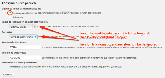 Using SVN in your translation flow (WordPress Handbook)